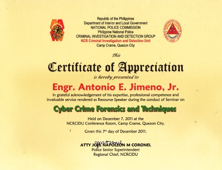 Philippine National Police Criminal Investigation and Detection Group, CIDG-CIDU-NCR